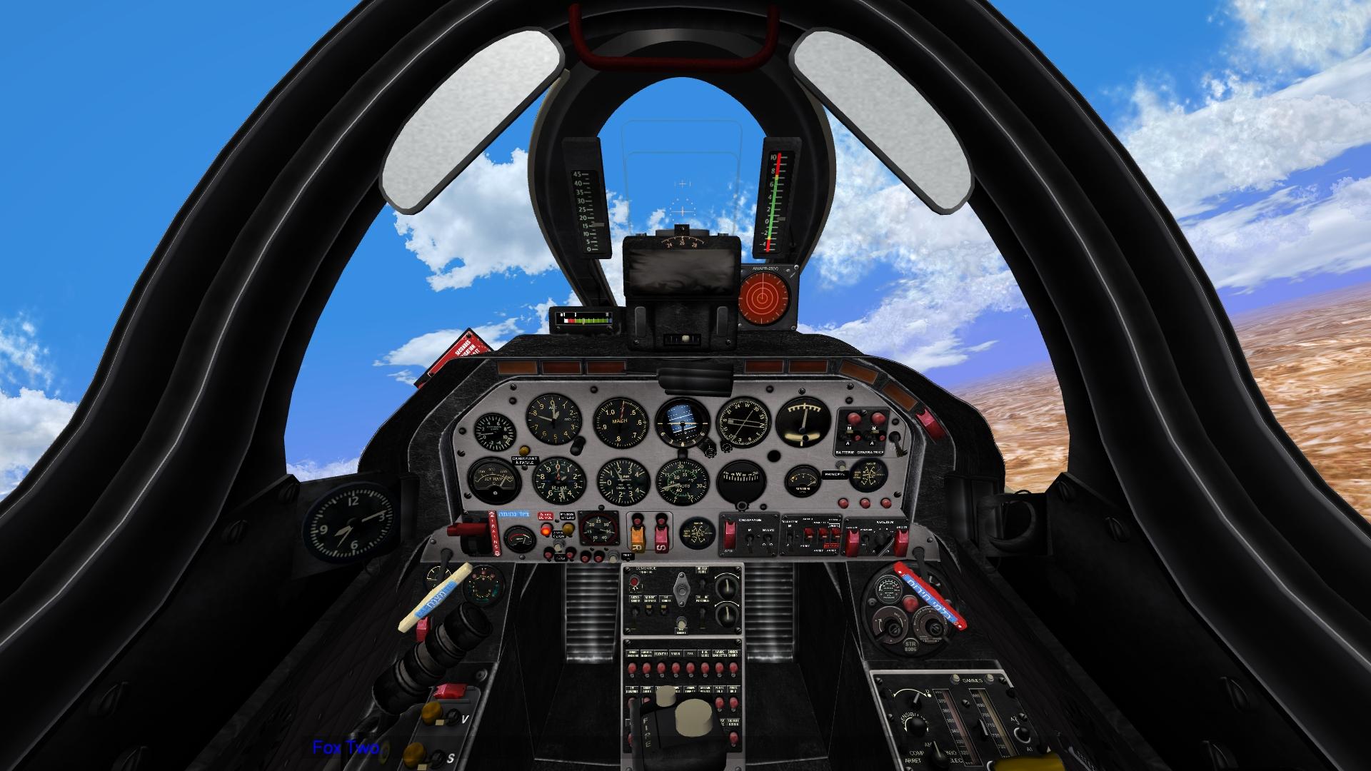 Sa'ar cockpits dual pack