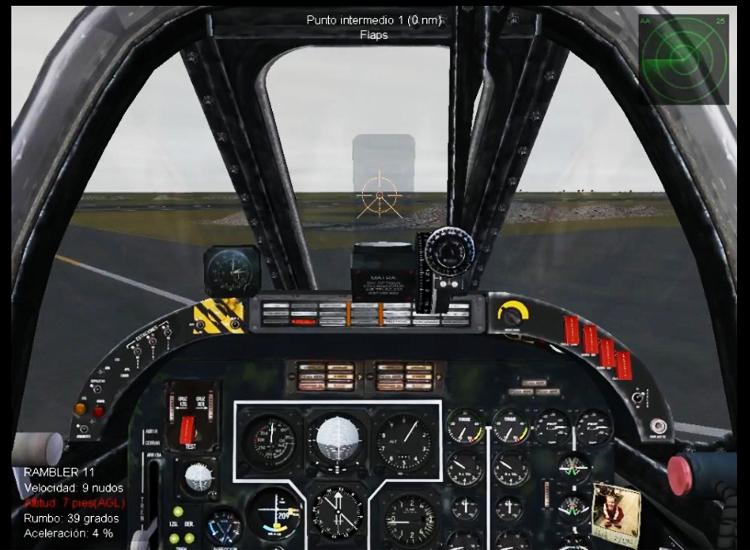 SF1 -- IA-58 PUCARA Cockpit update