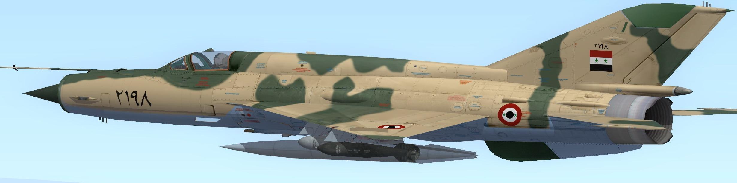 MiG-21MF_SyAAF for SF2