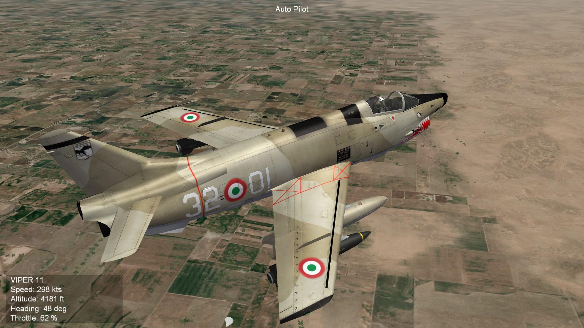 G-91Y Desert AMI