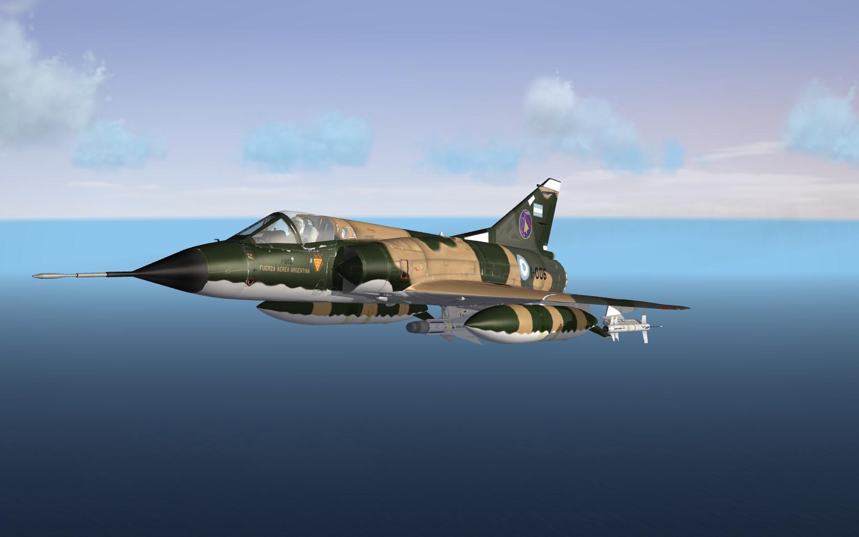 Banidos-Team Mirage IIIEA Fuerza Aérea Argentina