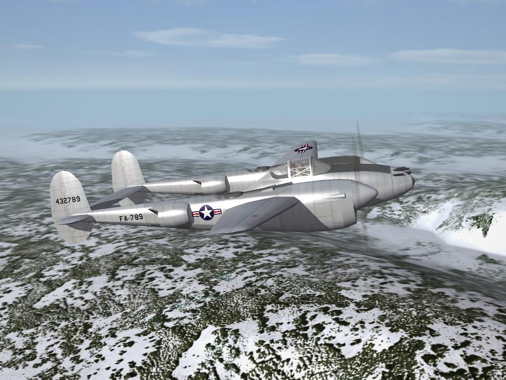 SF2 WW2/Post-War Lockheed P-38L Lightning