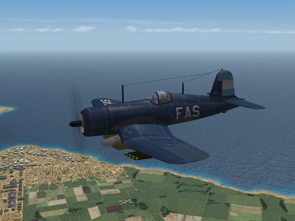 Vought/Goodyear FG-1D Corsair (F4U-1D) Fuerza Aérea Salvadoreña