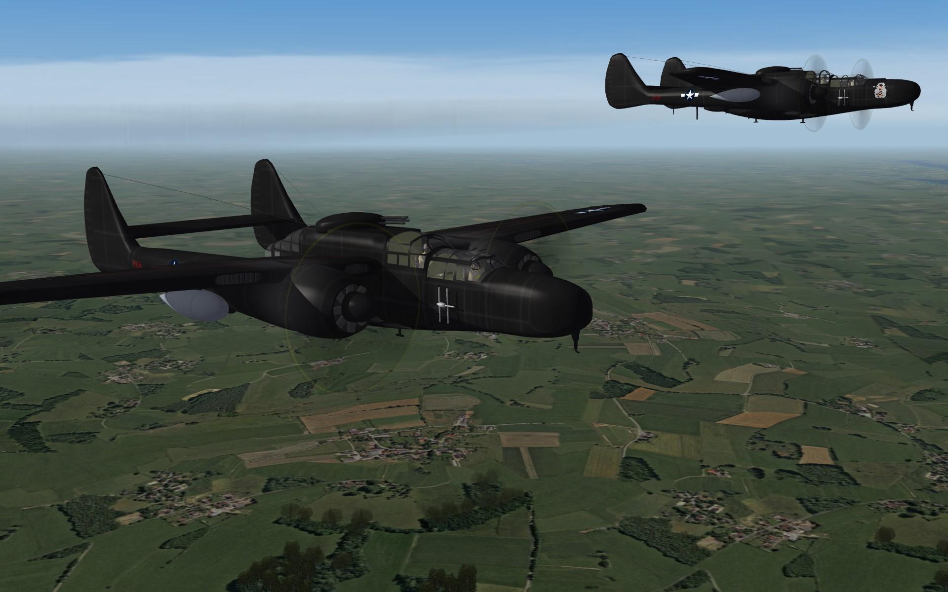 Northrop P-61 Black Widow  Pack