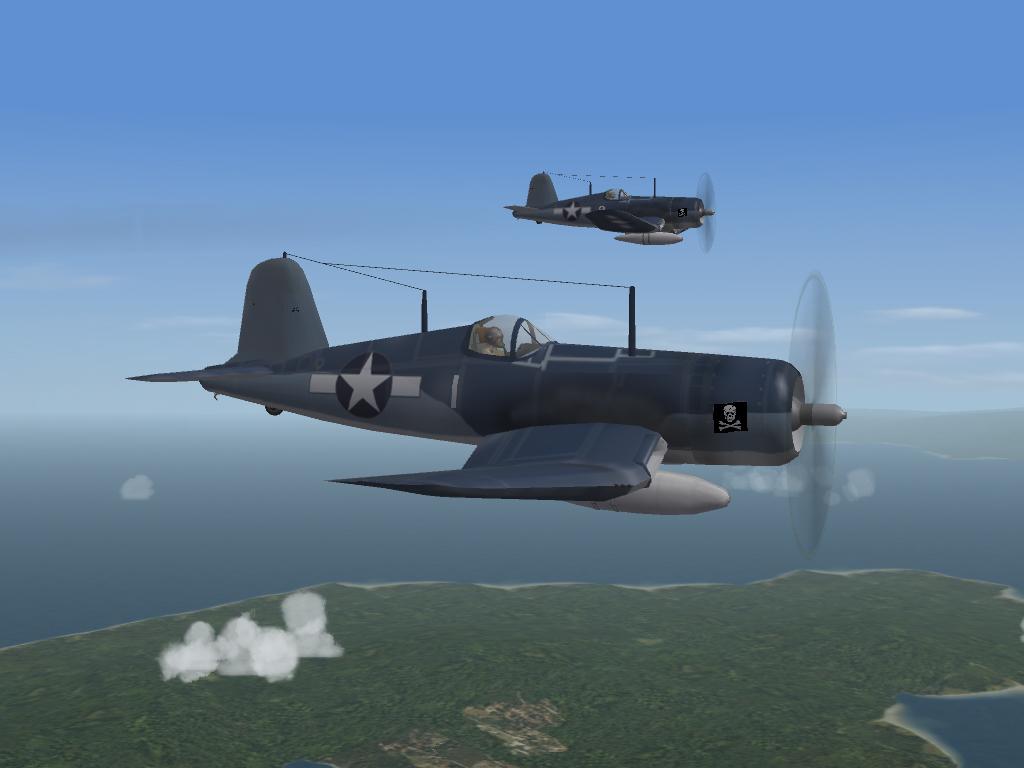 F4U Corsair, WW2 Pak (Wolf257)