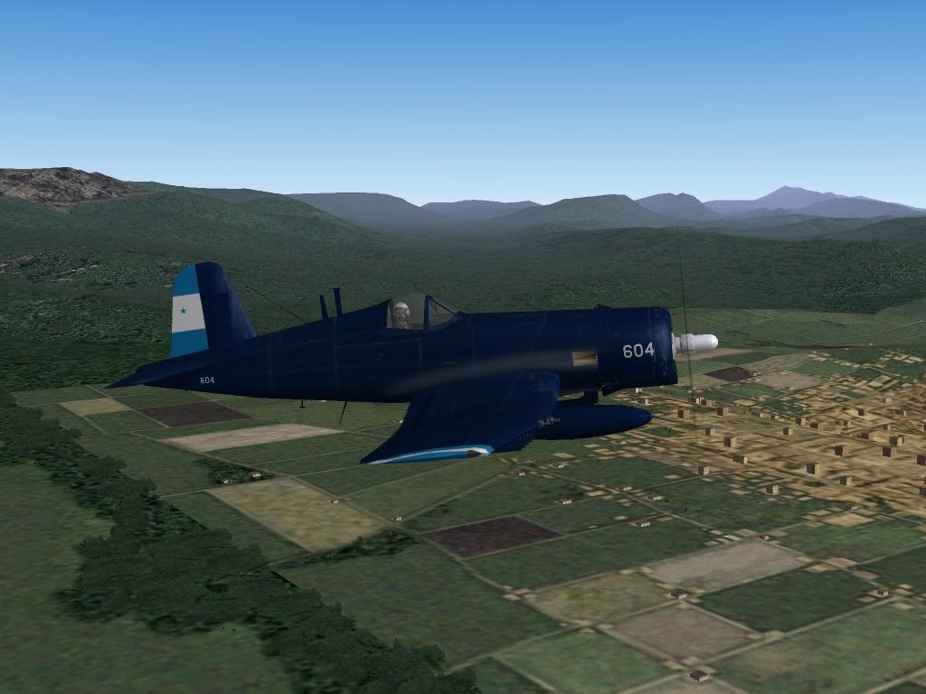 Vought F4U-5 Corsair, Fuerza Aérea Hondureña