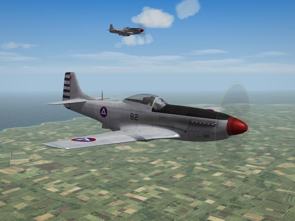 P-51D Mustang, Fuerza Aérea - Ejército de Nicaragua (3W)