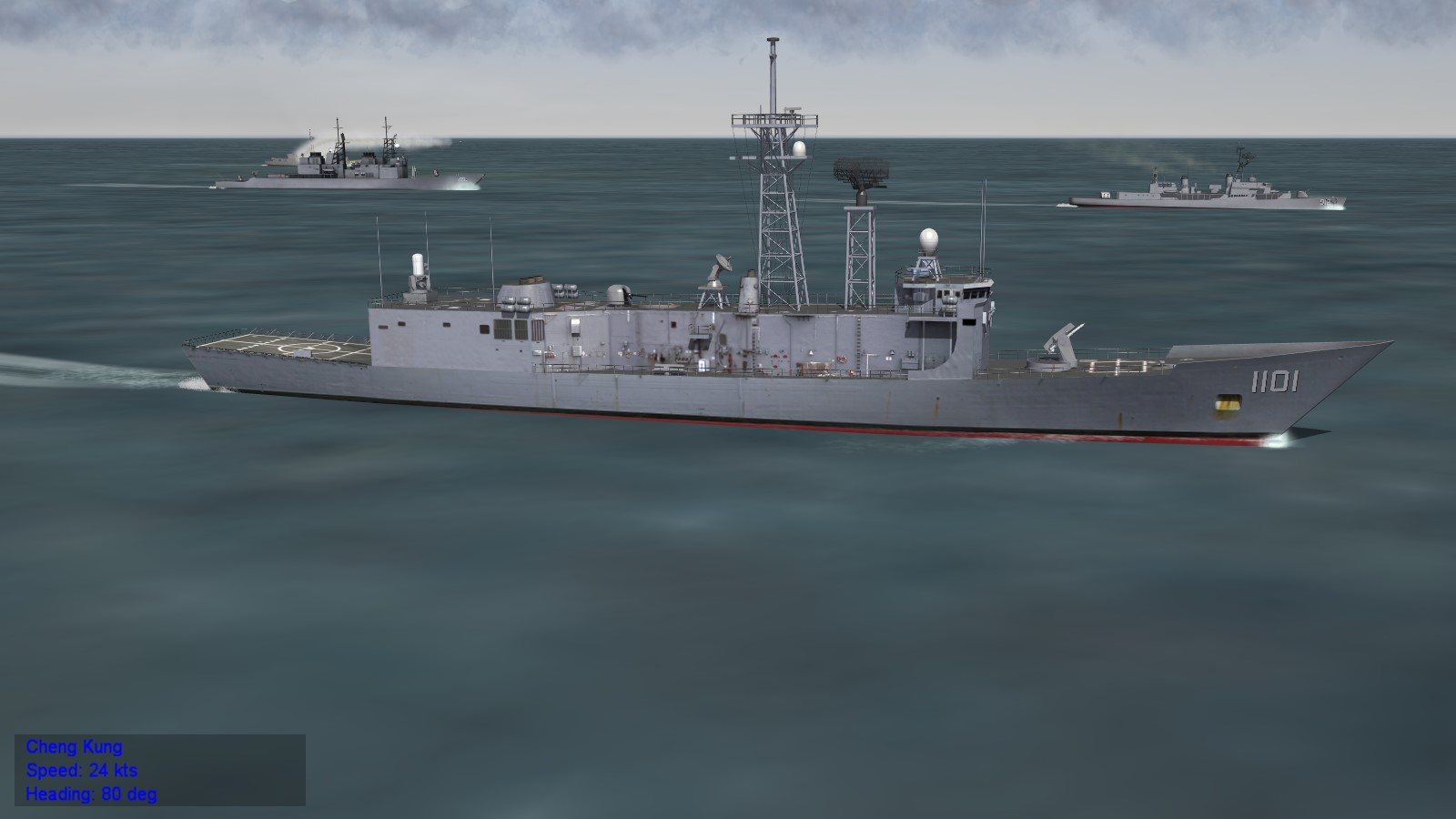 Taiwan Navy ship pack