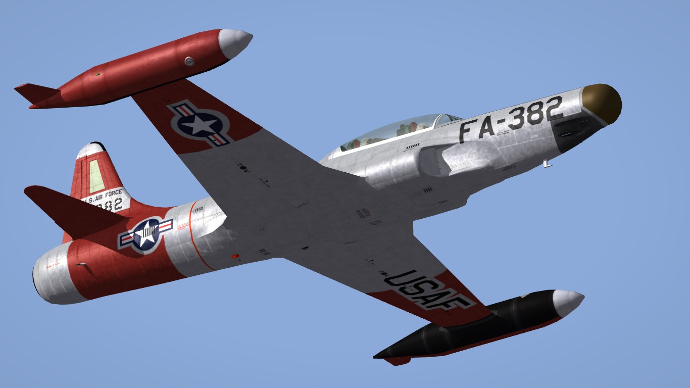 82nd FIS HiRes skin for F-94B (Erikgen)