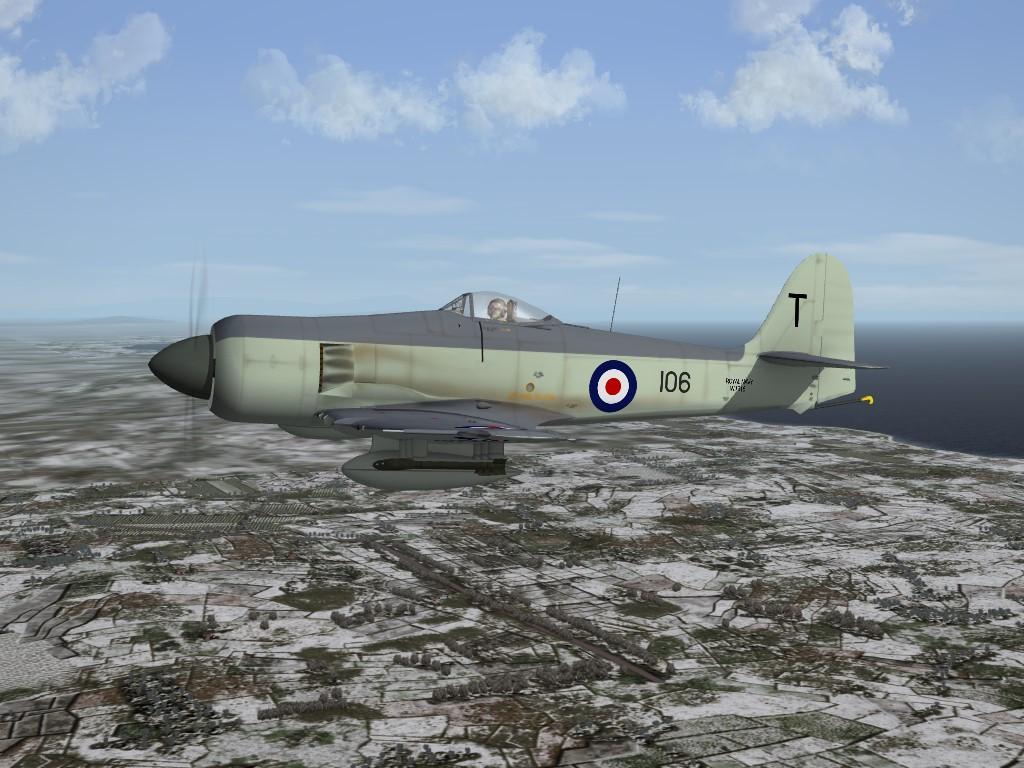 SF2 KAW Hawker Sea Fury (SB) Pack