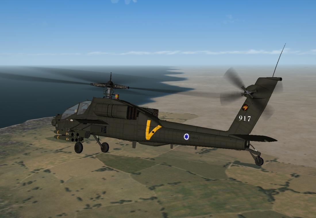 AH-64A Peten Over Israel SF2
