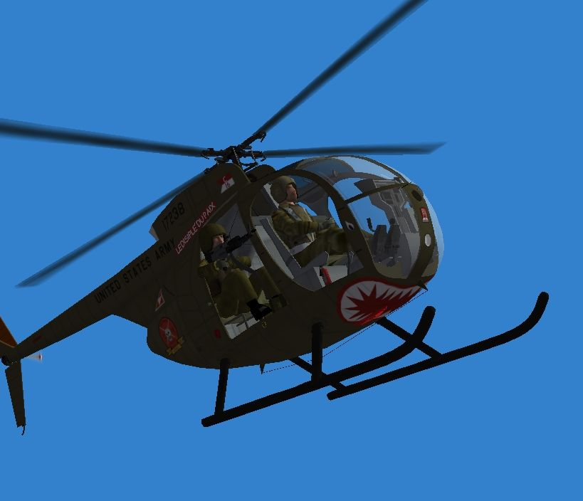 OH-6A Loaches in NAM