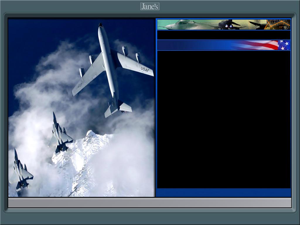 SF2 Jane's USAF Hi-Res 1024x768 Menu Screens and Music!