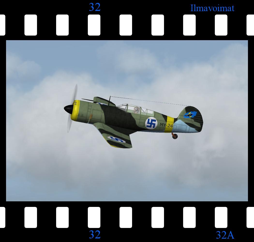 VL Myrsky II - WW2 Indigenous Finnish Fighter (by Veltro 2K)