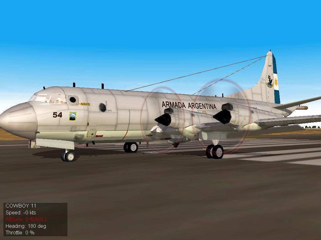 ARA Low-Viz P-3C Orion Armada Argentina SF2