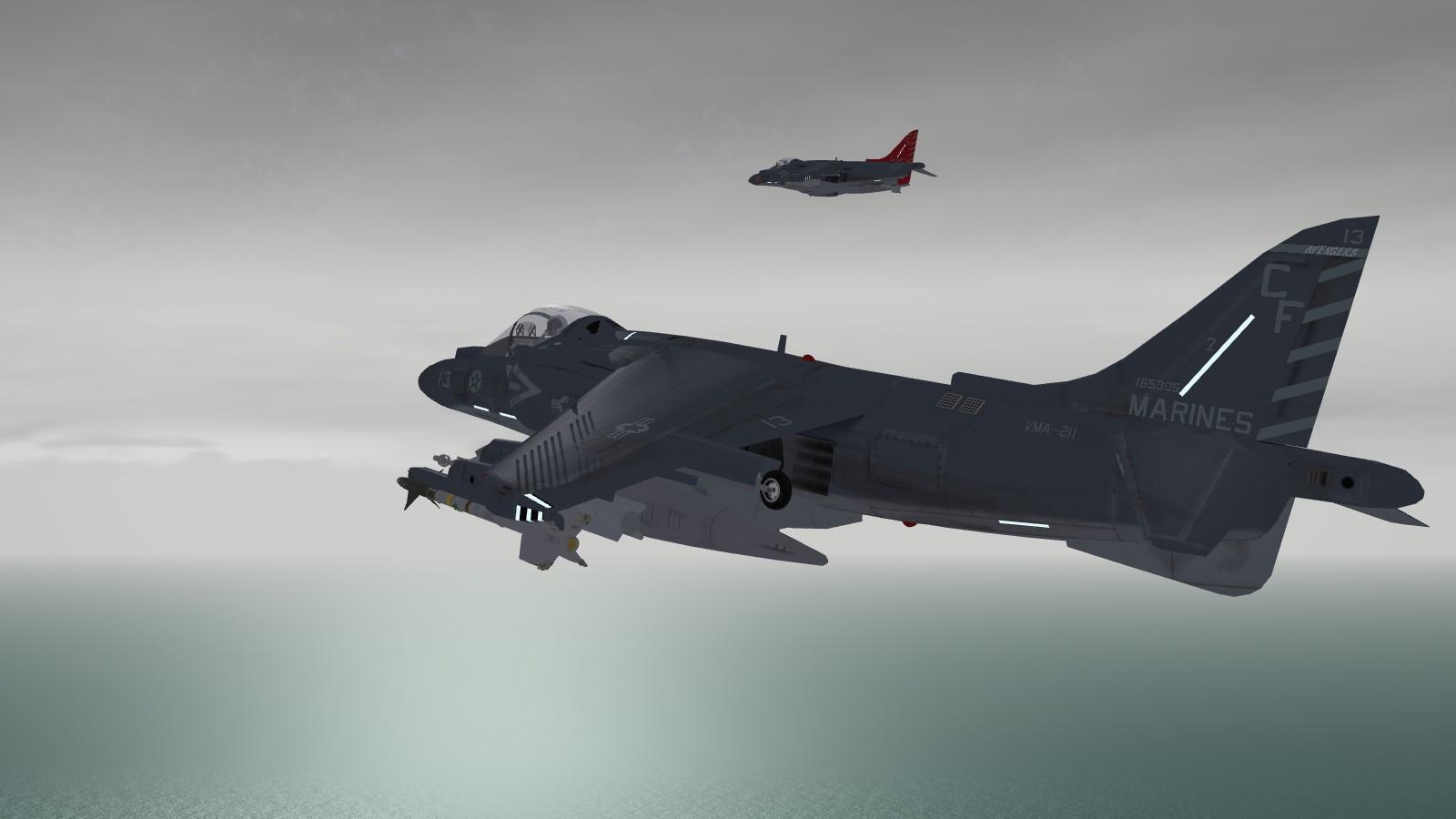 AV-8B Harrier II Plus 2010 modernization