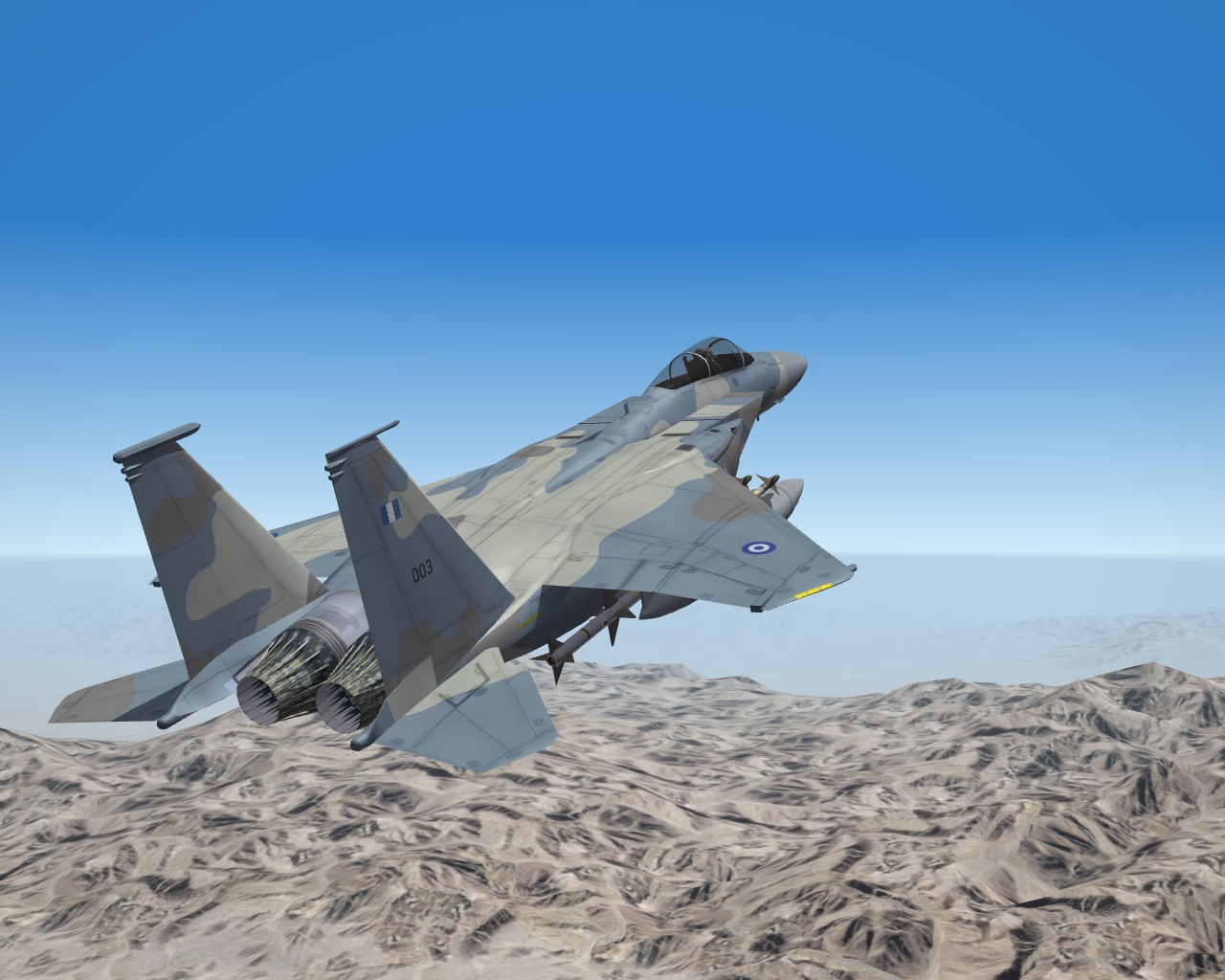 SF2 F-15C/D/H Hi-Rez 4096x Hellenic Air Force Skins
