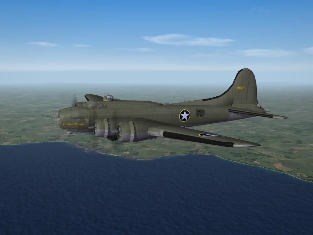 SF2 WW2 ETO B-17E Flying Fortress Pak