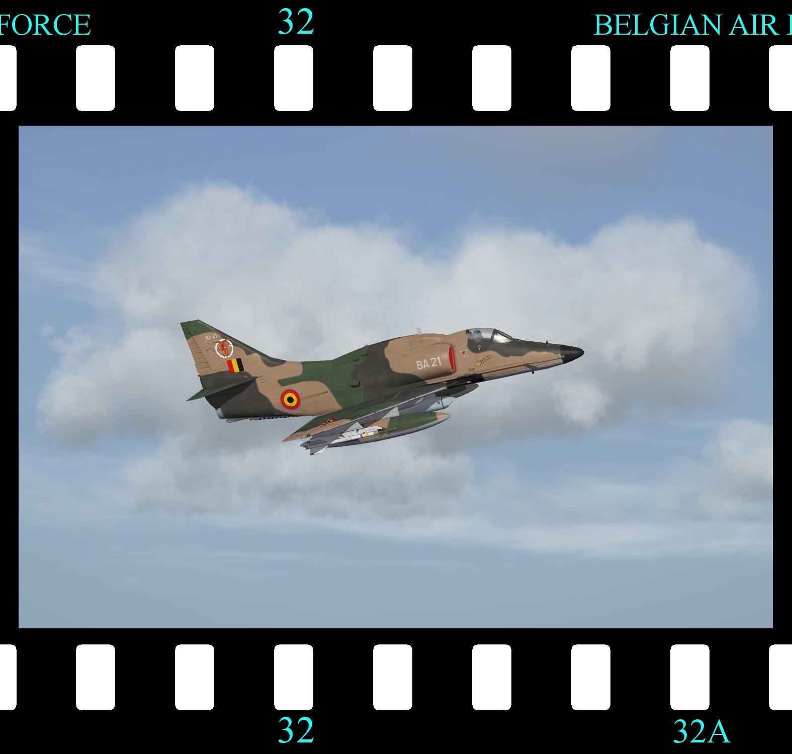 [Fictional] McDonnell Douglas A-4K Skyhawk 'BAF'