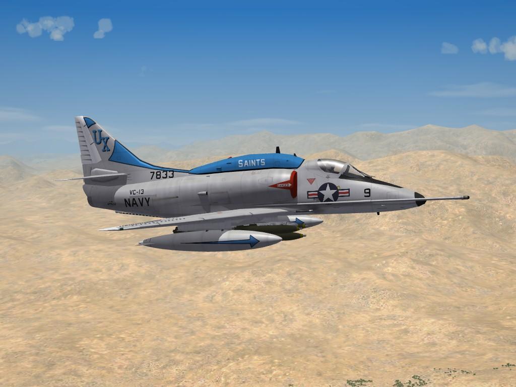 A-4L Skyhawk by Crab_02 & Column5