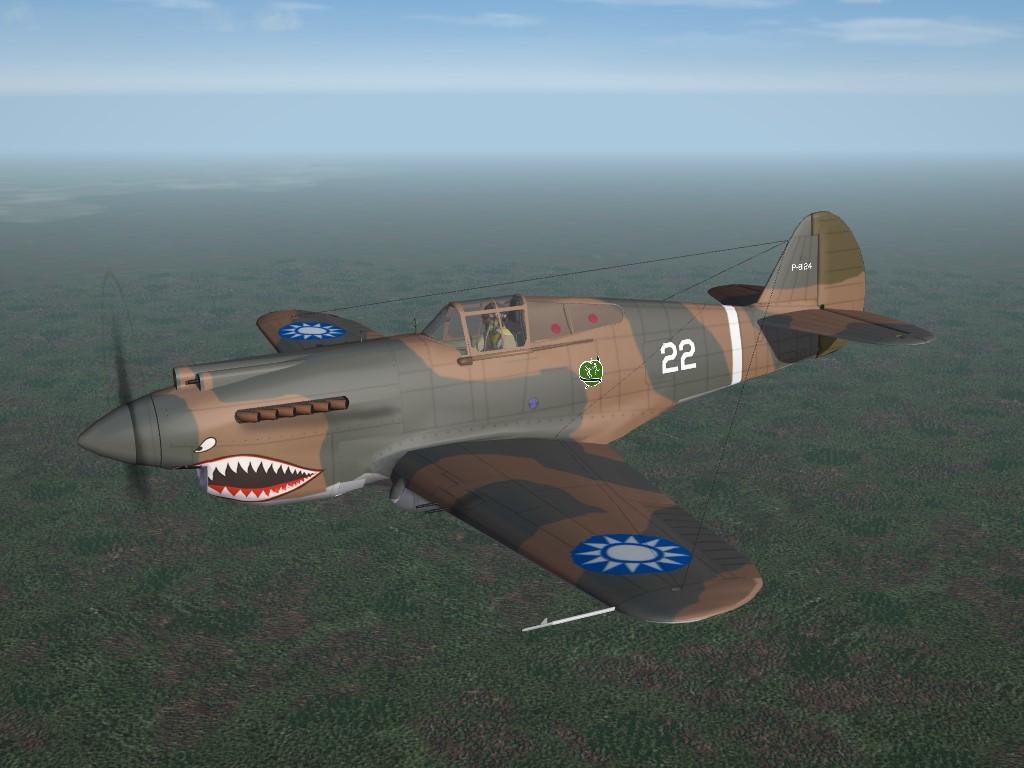 "SF2 WW2 AVG ""Flying Tigers"" Tomahawk Pack V.2"