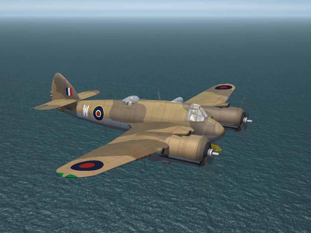 SF2 WW2 MTO Bristol Beaufighter Mk.IC