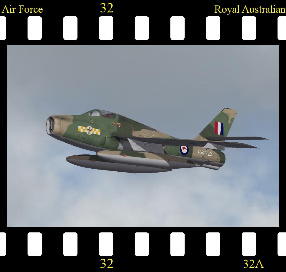 [Fictional] Republic Aviation F-84 Thunderstreak