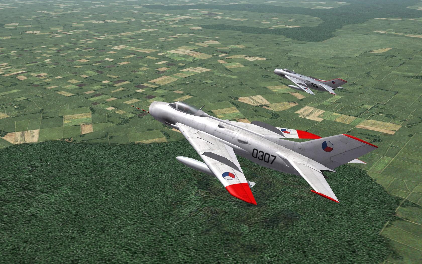 MiG-19S,SV,R,Field Mod FARMER