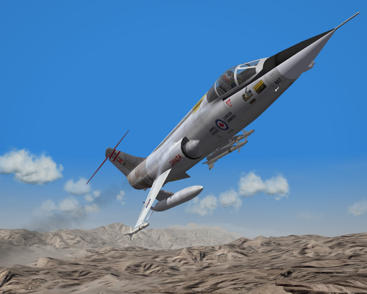 SF2 F-104 Starfighter Super Mega Pack 2016