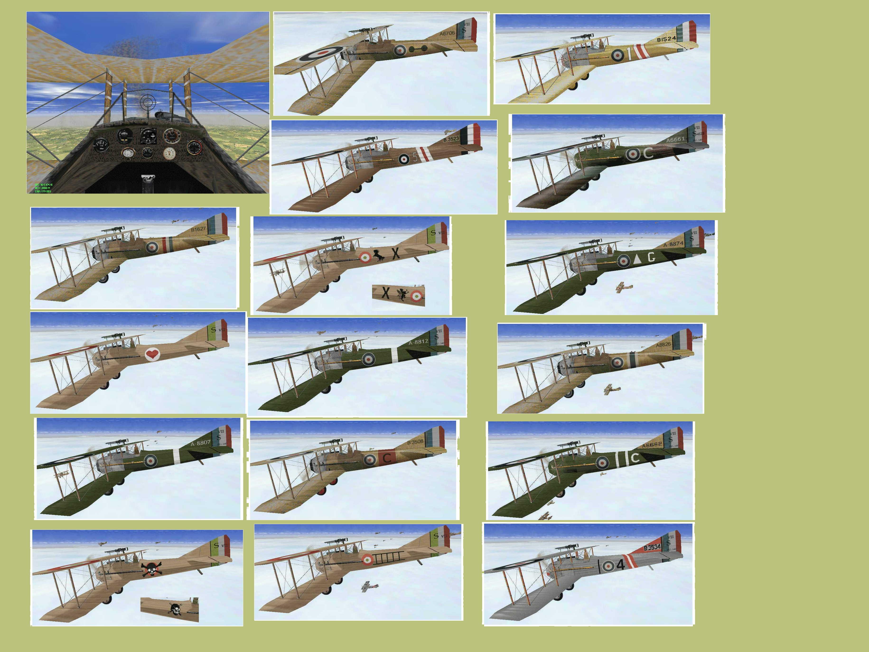140Trial planes skin