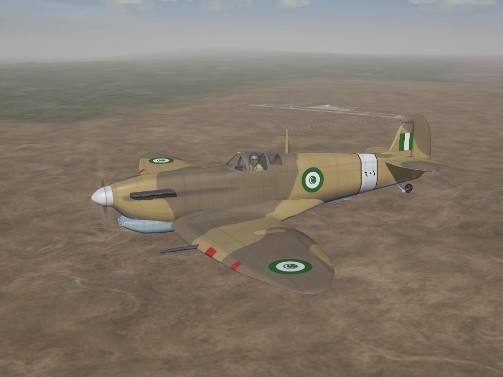 SF2:I REAF/EAF Spitfire Mk.V Trop Pak by Cocas Aircraft Factory