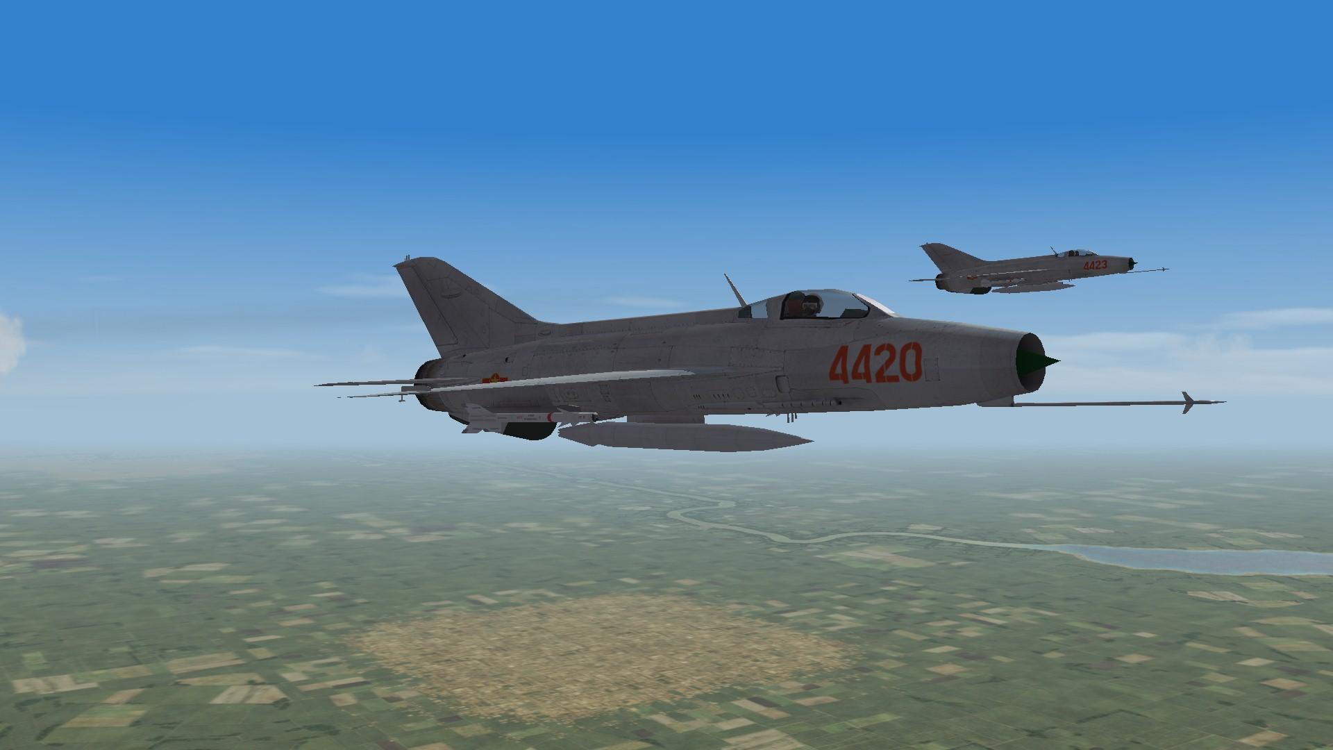 "VPAF 921th Regiment ""Sao Do"" MiG-21F-13 Fishbed C(1966)"