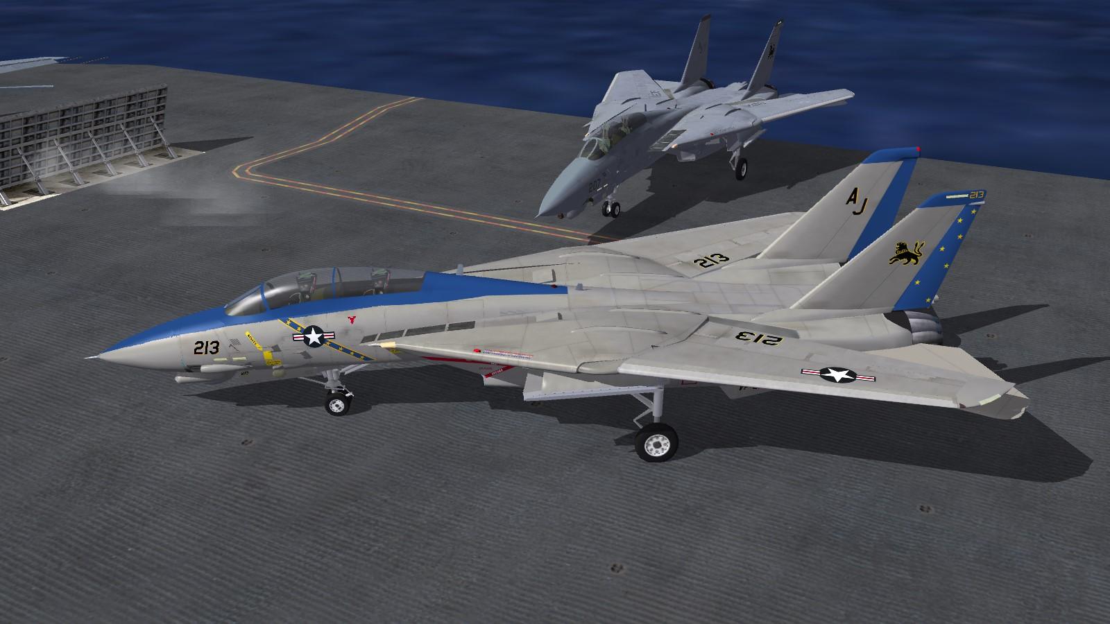 VF-213 Black Lions Last Roar!