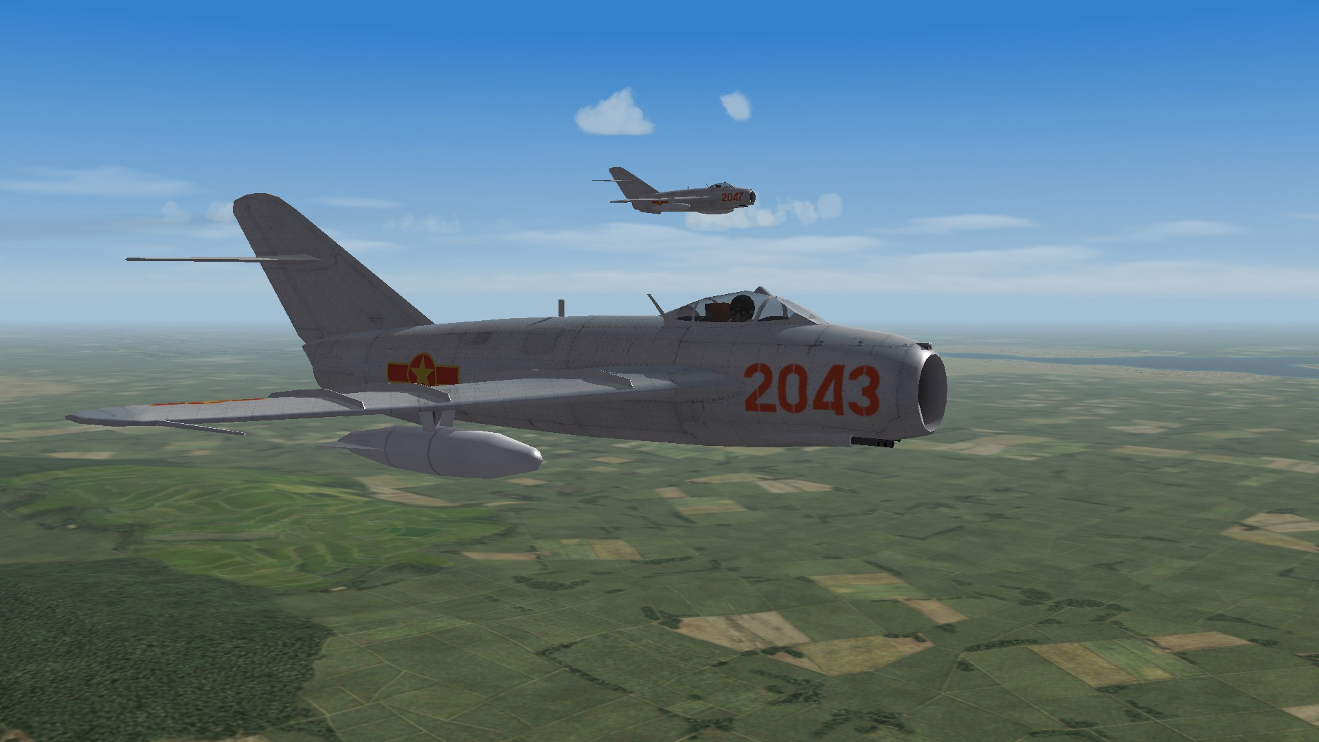 "VPAF 923th Regiment ""Yen The"" MiG-17F Fresco C(1966)"