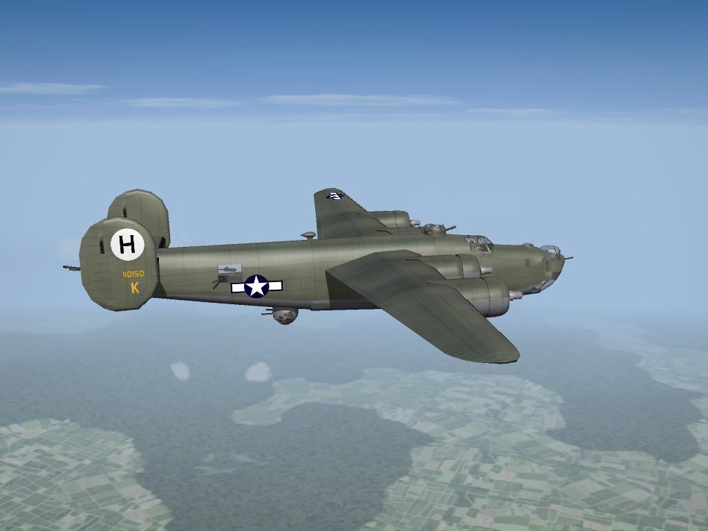 SF2 WW2 B-24J Liberator (Pasko), ETO Pak