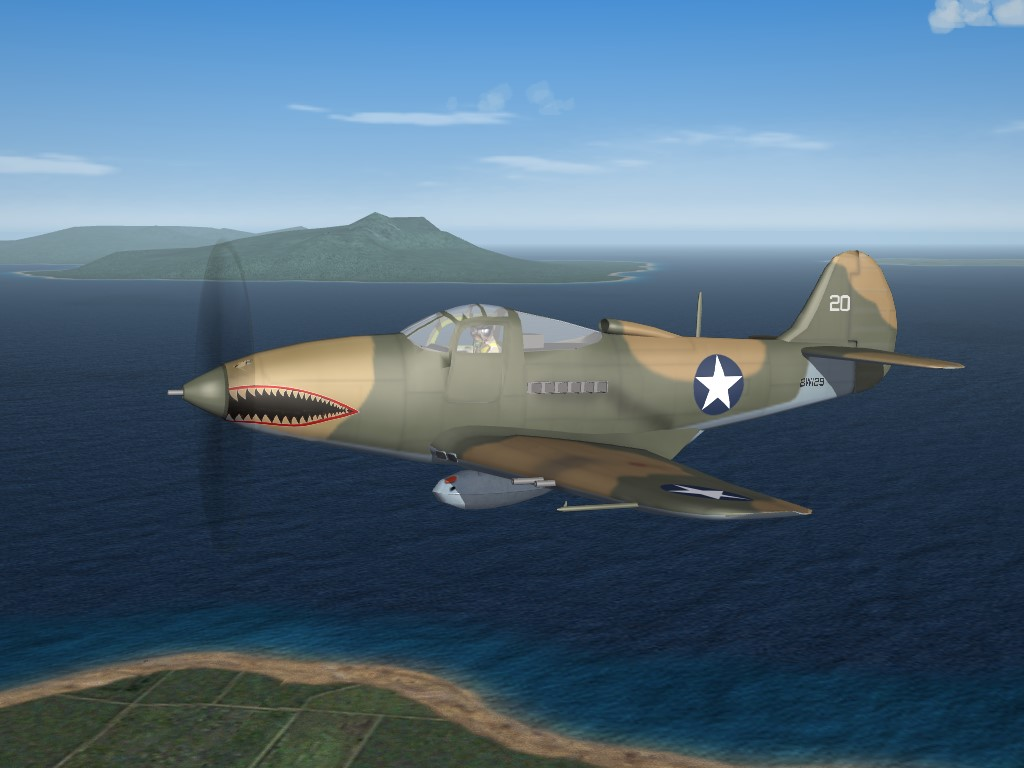 SF2 WW2 PTO P-400 Airacobra (Export) Pak by Veltro2k