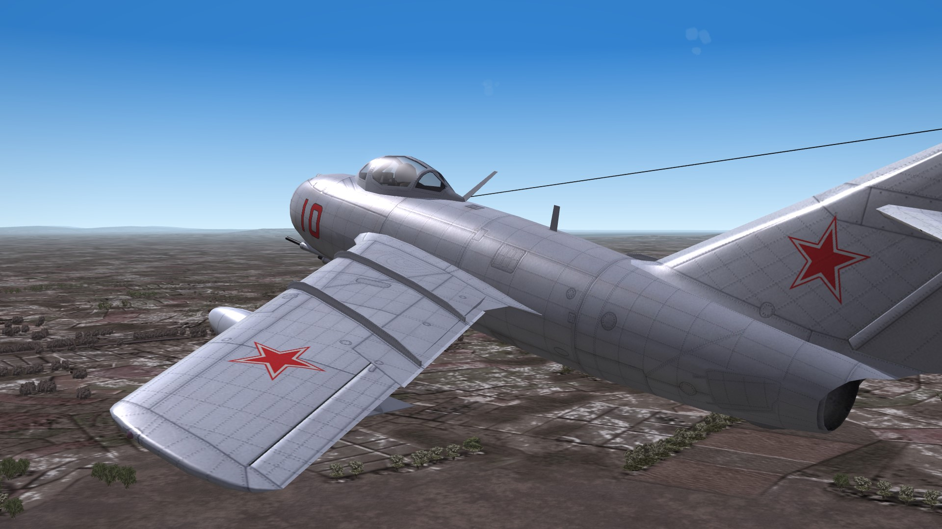 Redrawn Panel Lines for the TW SF2 MiG-15