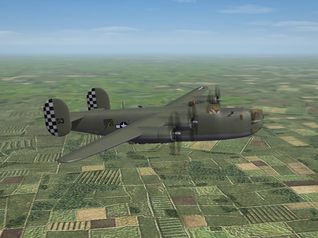 SF2 WW2 CBI B-24J Liberator Pak