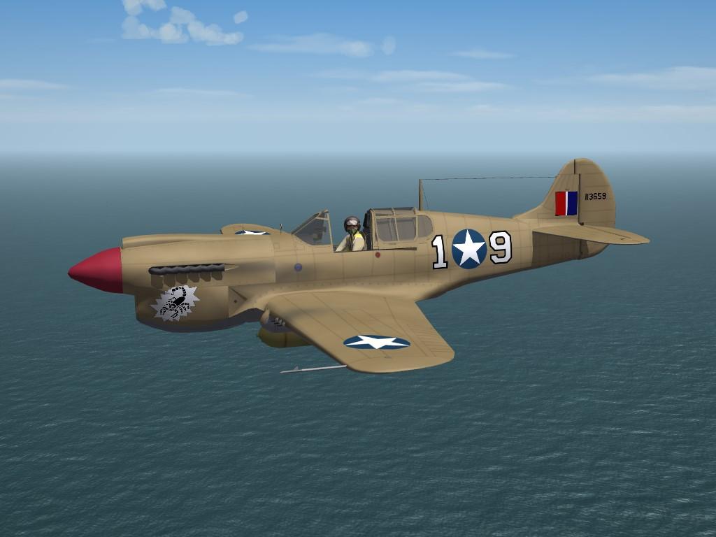 SF2 WW2 MTO USAAF P-40K-5 Pak