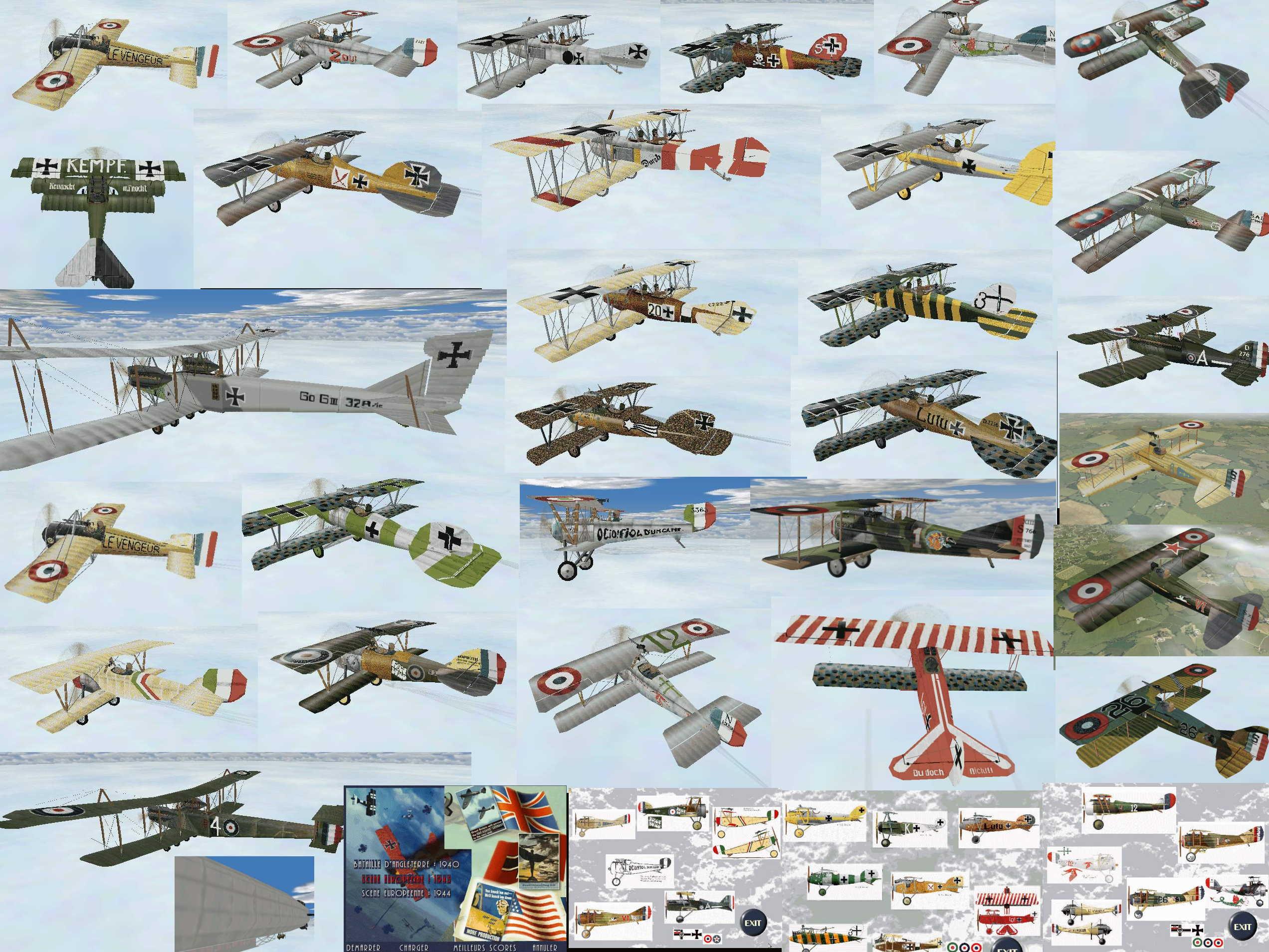 EAW WW1 mod Planes menus house edit