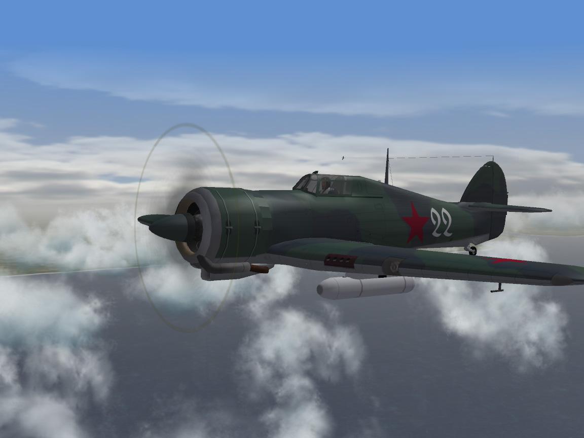 Soviet Hercules Hurricane MkIIa