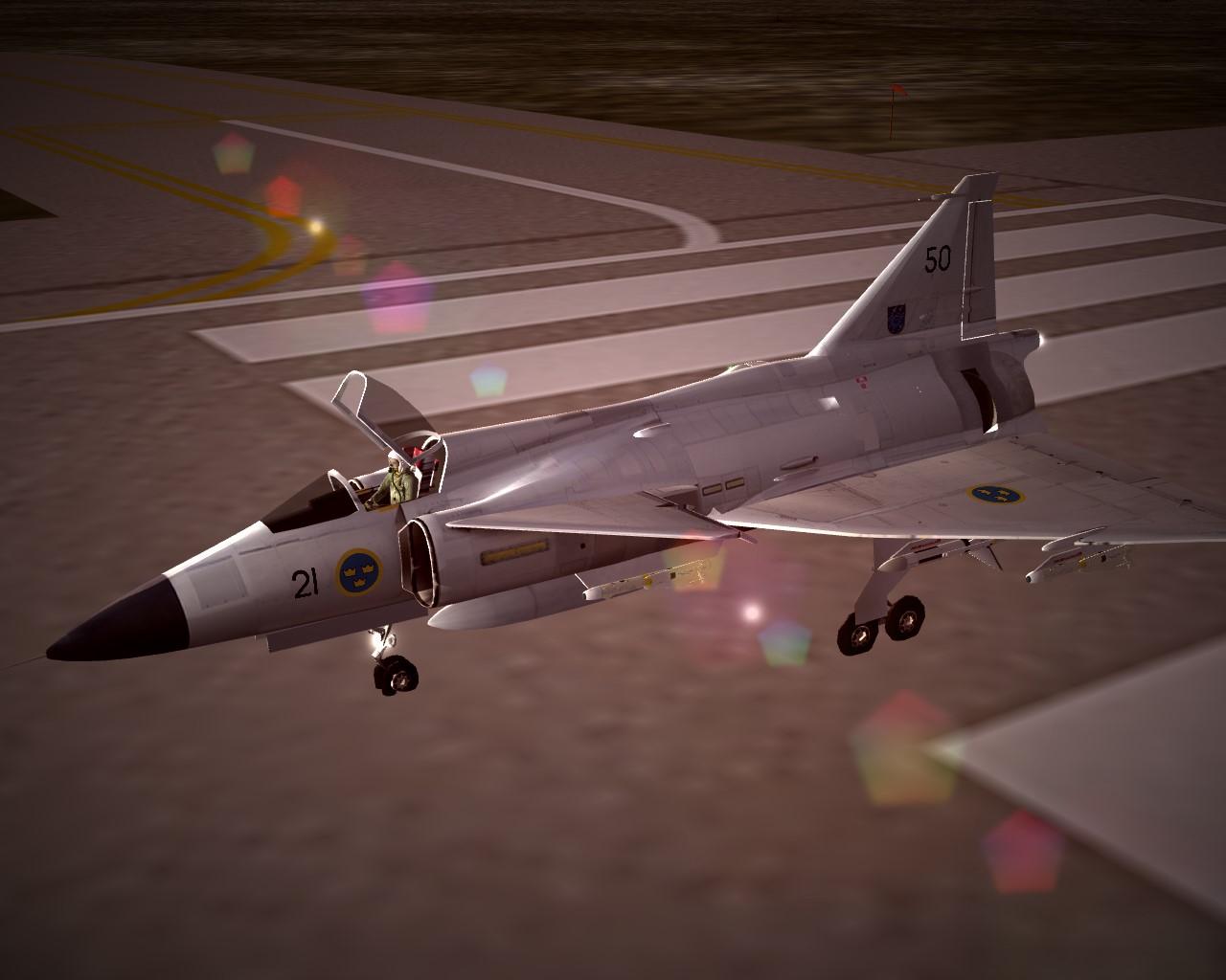 SF2_JA-37_PhotorealisticBeraMetal