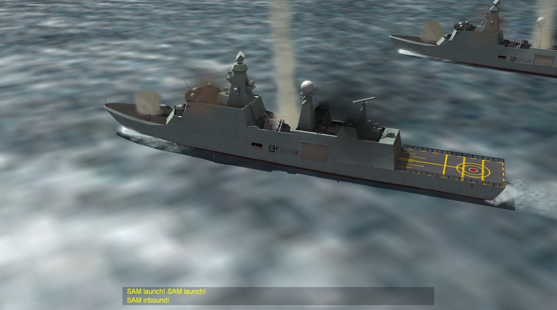 Absalon Class Support Ship