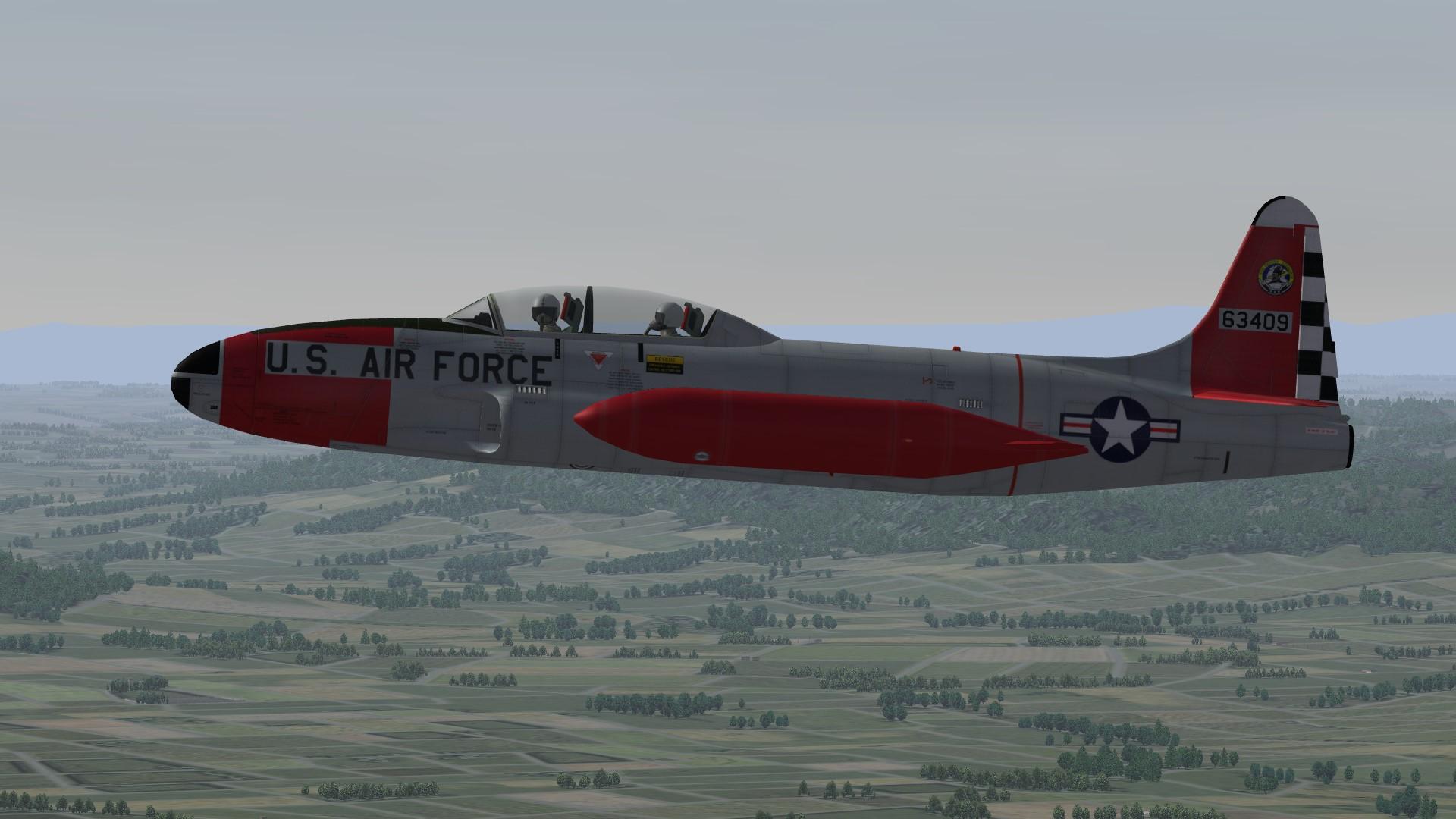 USAF / ANG T-33A Skins