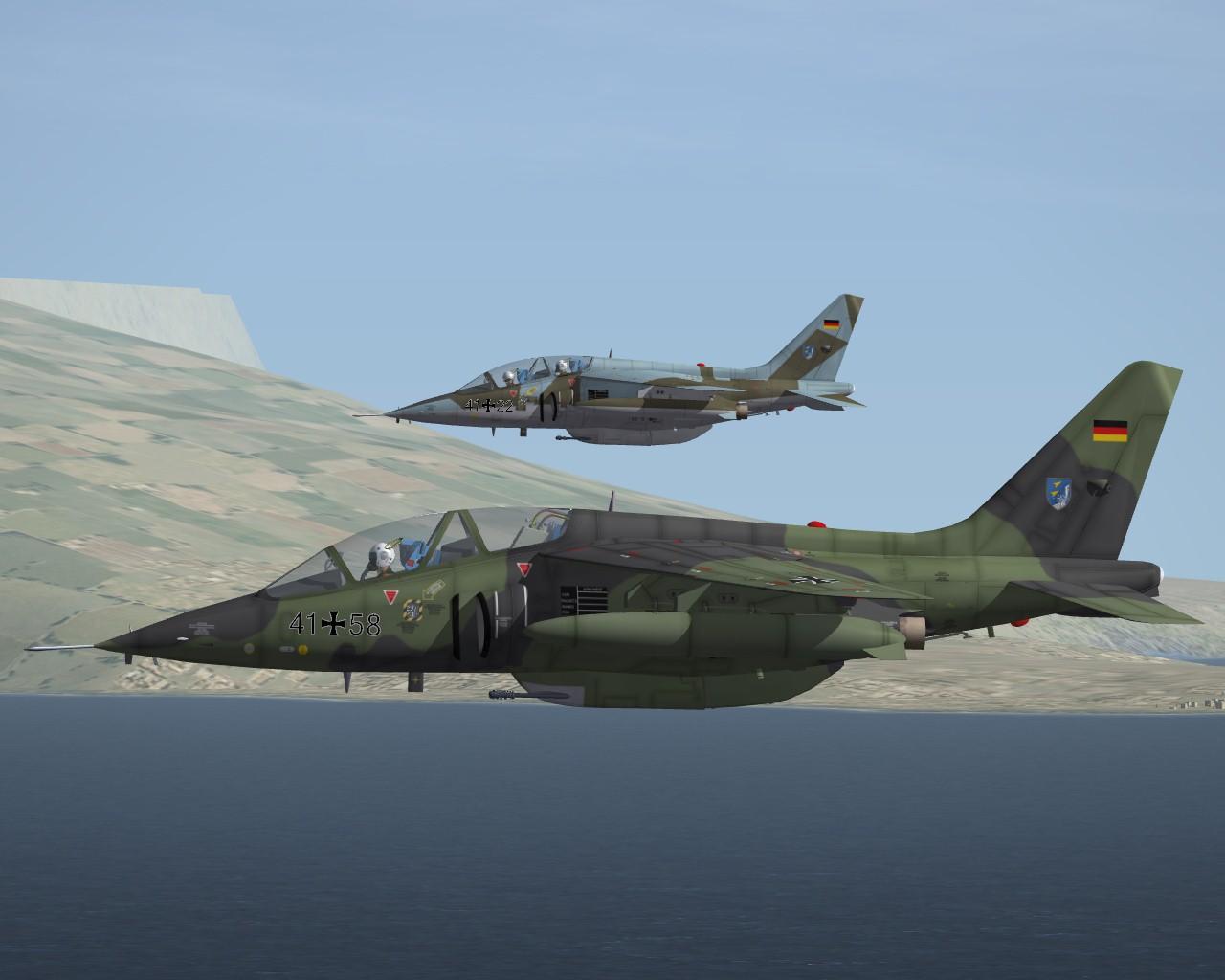 SF2 Dornier AlphaJet-A