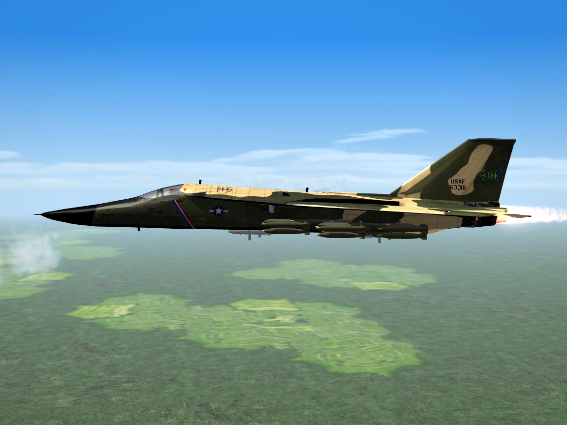 SF2 F-111A Jets for Vietnam: The 428th, 429th and 430th TFS from Tahkli RTAFB
