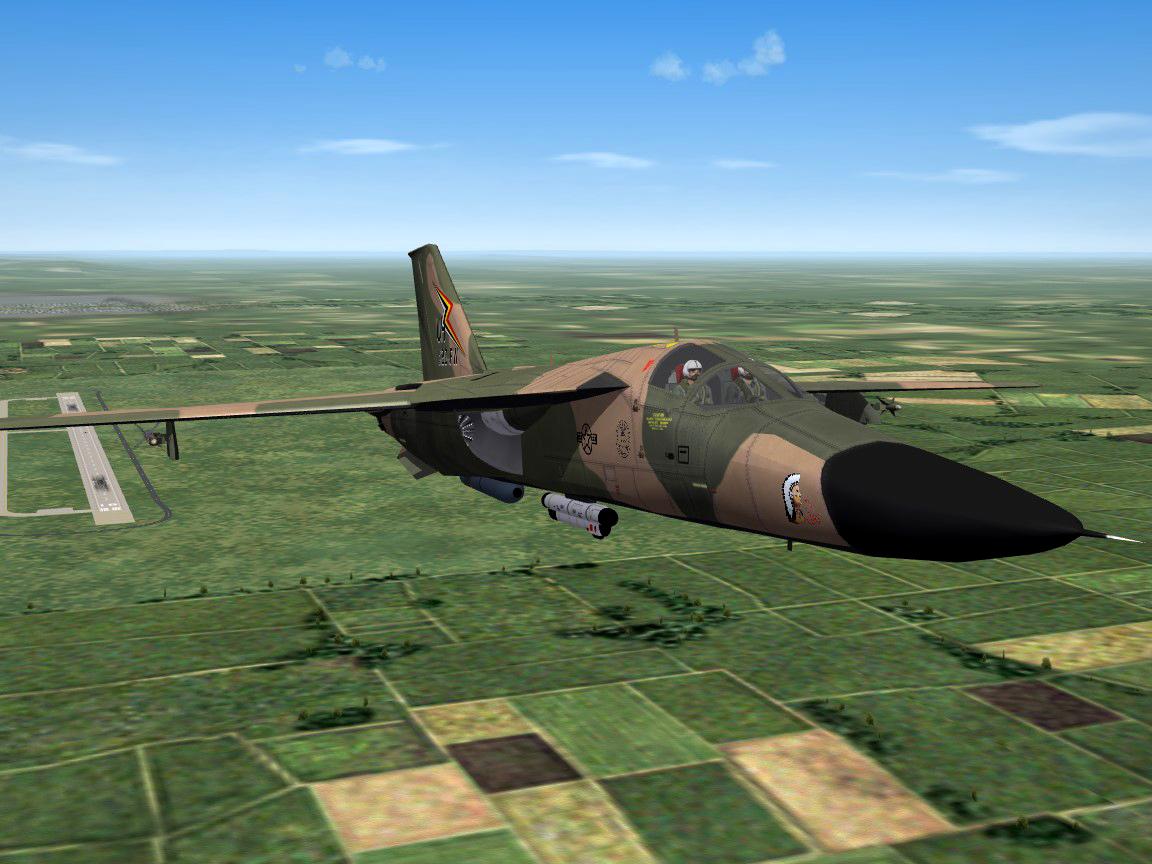 SF2 F-111E Aardvarks USAF/E RAF Upper Heyford 20th TFW. The 55th, 77th and 79th TFS