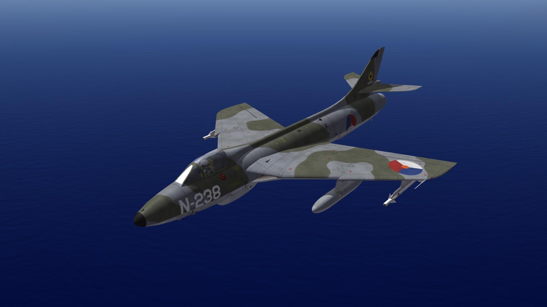 Hunter F 6 (60) - Thirdwire: Strike Fighters 2 Series - File