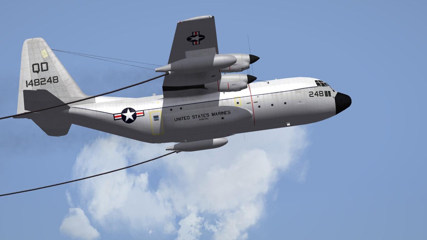 VMGR-152 Hi-Viz skin for KC-130F