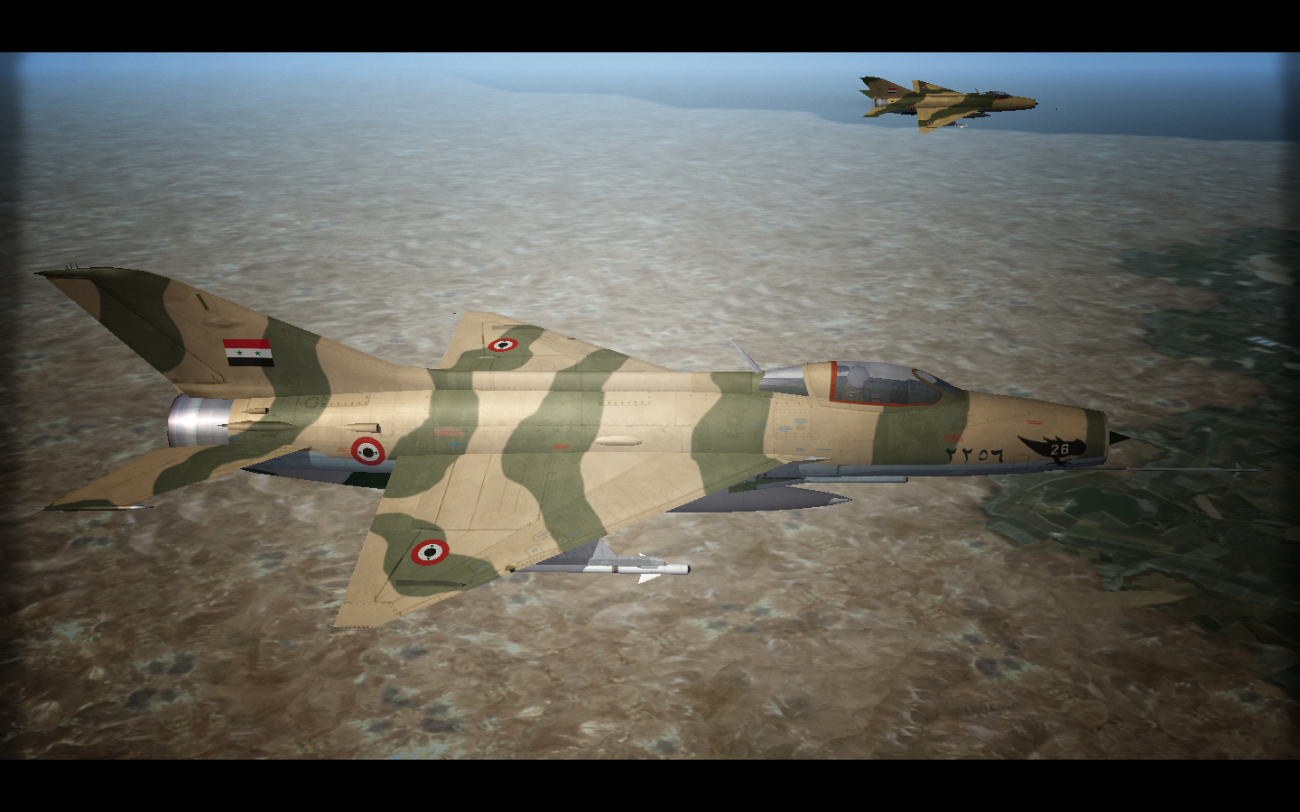 MiG-21 Fishbeds Over Middle East/